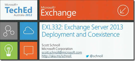 Exchange 2013 Deployment And Coexistence