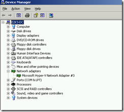 Hyper-V Components Sucesfully Upgraded And Devices Installed