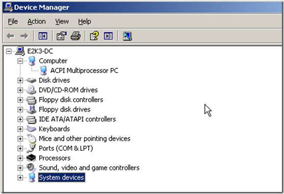 Network Card Missing From Hyper-V VM With Updated Integration Components