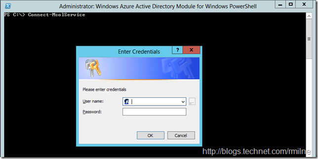 Connecting to Windows Azure Active Directory