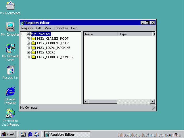 Registry Editor Favourites Menu - Hidden In Plain Sight For The Last 14 Years
