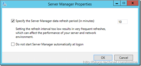 Do Not Start Server Manager Automatically At Logon