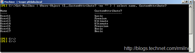 Lab Configuration - Multiple Values Present For CustomAttribute7