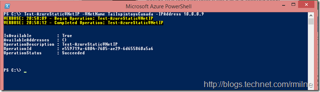 Checking Which Azure IP Addresses Are Available Using Microsoft Azure PowerShell