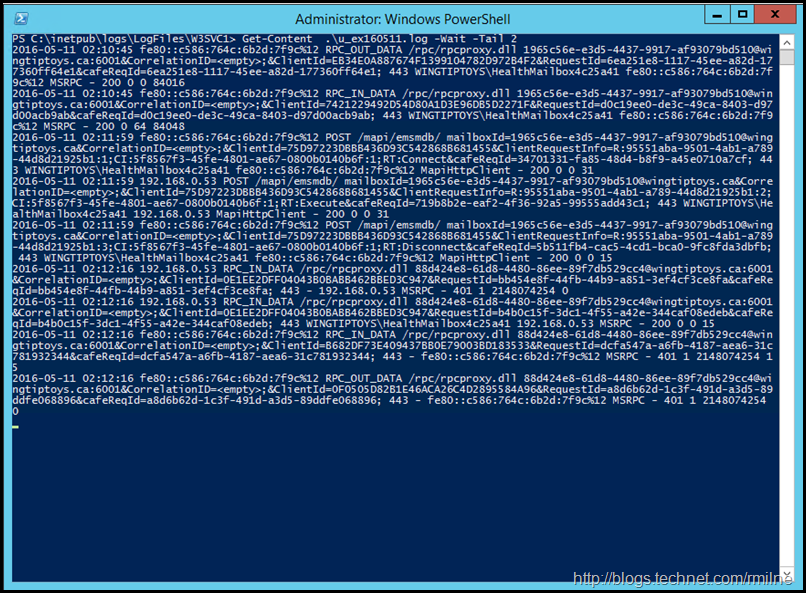 PowerShell Tail Command - Just like Buses, Two Come At Once....