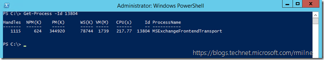 Using PowerShell's Get-Process To Get Process Name From a PID