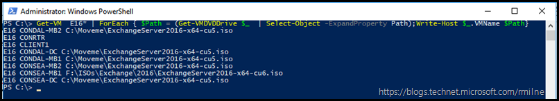 PowerShell One-Liner To Show VMName and Expanded Path Information