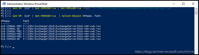 Using PowerShell to Add Same ISO To Multiple VMs