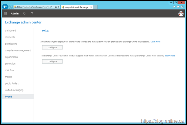 Installing HCW From Office 365 Admin Portal
